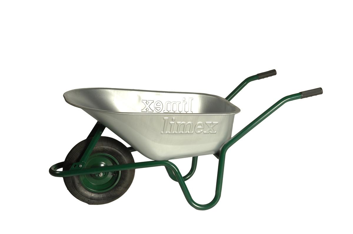 ALTRAD LIMEX 1 Palette = 20x Bauschubkarre Grün 100l Liter Mulde verzinkt ***NEU